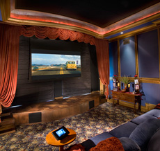 Custom 3D High Definition Home Theaters by HTSA Member Video and Audio Center